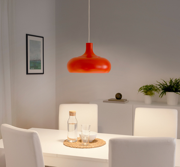 Design spotting: Vaxjo ceiling lights at Ikea