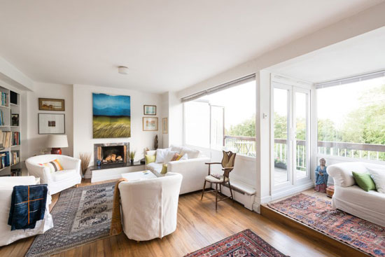 On the market: 1960s Austin Vernon & Partners-designed townhouse on the Dulwich Estate, London SE26