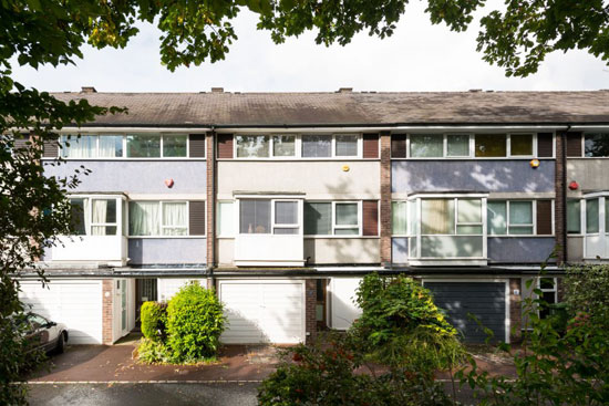 1960s Austin Vernon & Partners-designed townhouse on the Dulwich Estate, London SE26