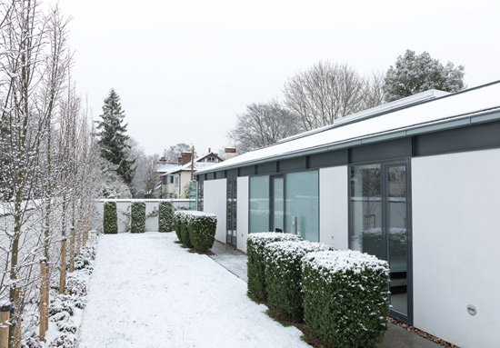Tim Poulson-designed La Maison Verre modernist property in Cambridge, Cambridgeshire