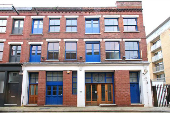 In need of renovation: Victorian warehouse in Calvin Street, Spitalfields, London E1