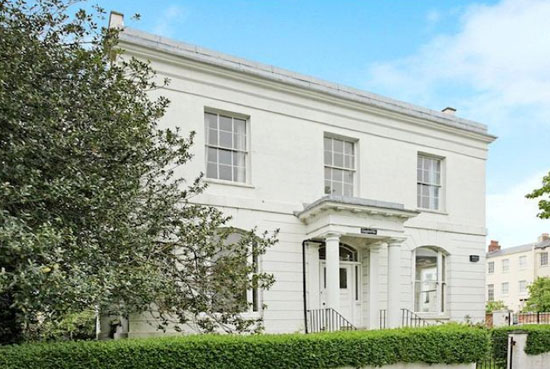 John Forbes-designed nine-bedroom Regency villa in Cheltenham, Gloucestershire