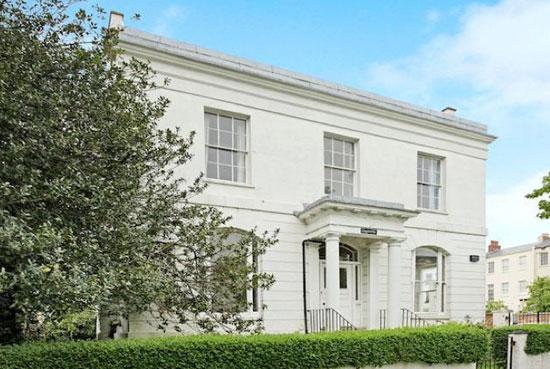 On the market: John Forbes-designed nine-bedroom Regency villa in Cheltenham, Gloucestershire