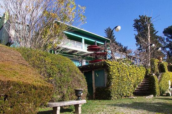 1970s Villa Benedetti space age six-bedroom house in Ascoli Piceno, Marche, southern Italy
