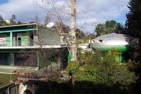 1970s Villa Benedetti space age house in Ascoli Piceno, Marche, Italy