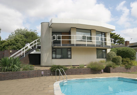 1960s grade II-listed Vista Point by Patrick Gwynne in Angmering, West Sussex