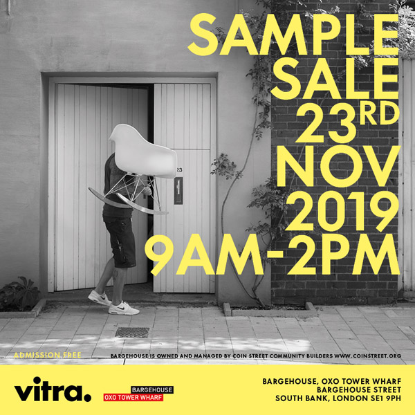 Design bargains: Vitra Sample Sale heads to London