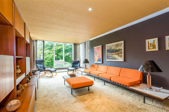 1960s modern house in Parbold, Lancashire
