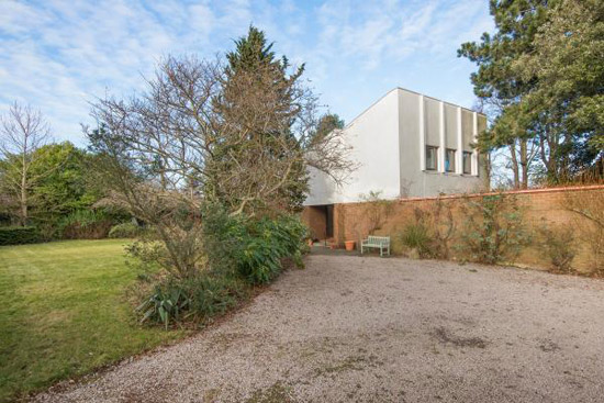1960s Morris and Steedman-designed modernist property in North Berwick, East Lothian, Scotland