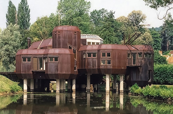 32. 1970s Marc Held-designed Maison de L'Utopie in Gif-sur-Yvette, France