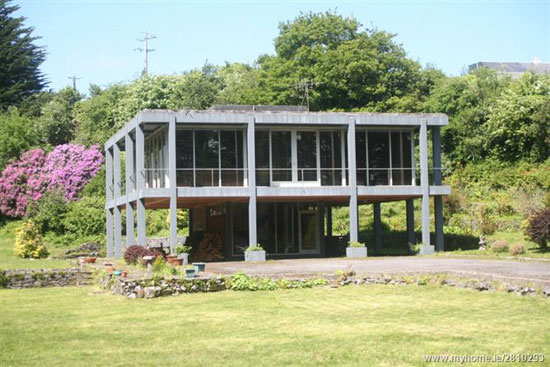 1970s Don O'Neill Flanagan-designed modernist property in Oughterard, near Galway, Ireland