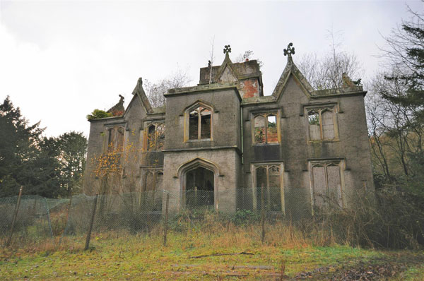 4. Renovation project: Gothic mansion in Great Harwood, Lancashire