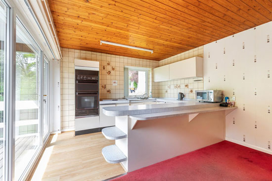 1960s midcentury modern house in Keighley, West Yorkshire