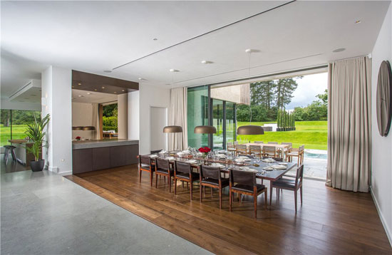 Jura modernist property on the Wentworth Estate, Virginia Water, Surrey