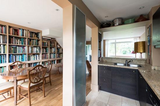 1960s Eric Lyons-designed Span House in Byfleet, near Weybridge, Surrey