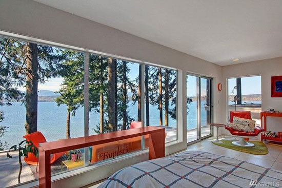 1960s William Bain Jr-designed midcentury property in Poulsbo, Washington, USA
