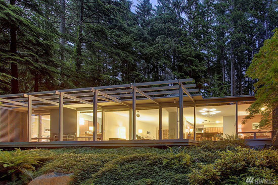On the market: 1960s midcentury modern property in Edmonds, Washington, USA
