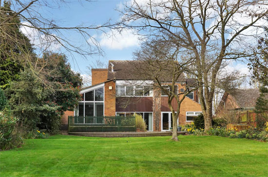 On the market: 1960s architect-designed property in Wanlip, Leicestershire