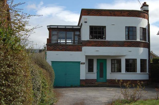 on the market three bedroom 1930s art deco house in wakefield west