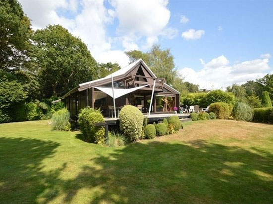 On the market: 1960s Rodney Gordon-designed Turnpoint modernist property in Walton-On-Thames, Surrey