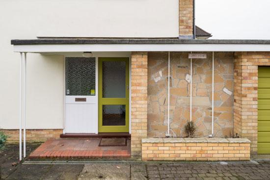 1960s modern house in Chislehurst, Kent