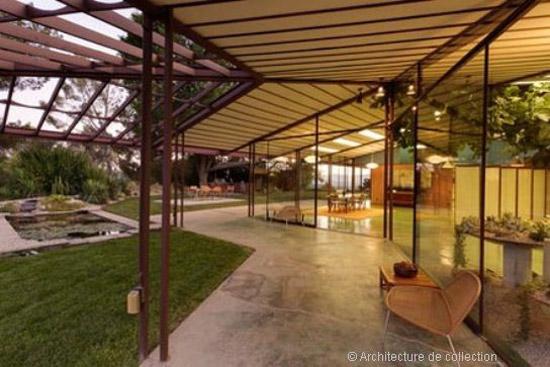 1950s Rodney Walker-designed Walker Residence in Ojai, California, USA