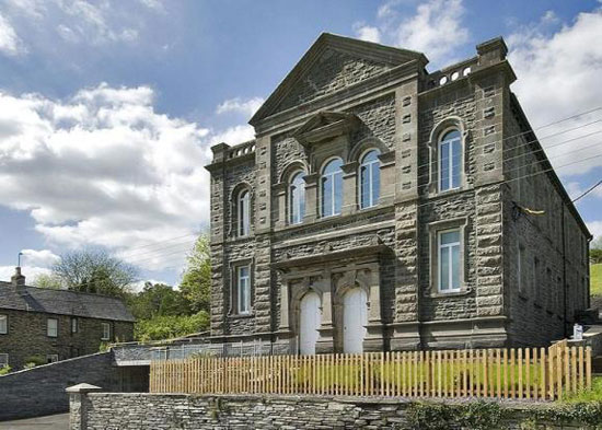 On the market: Eight-bedroom Moriah Chapel in Dolwyddelan, Gwynedd, North Wales
