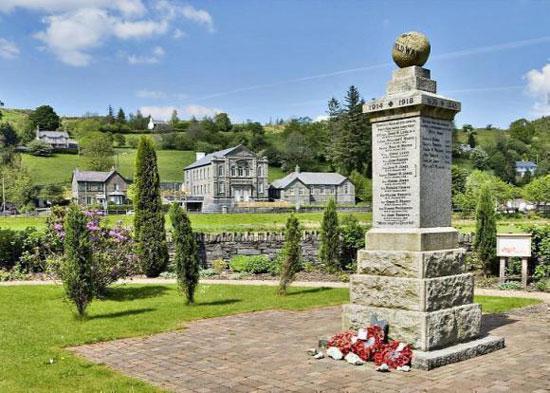 Eight-bedroom Moriah Chapel in Dolwyddelan, Gwynedd, North Wales