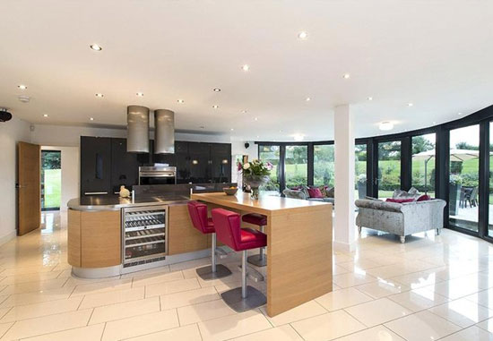 On the market: Contemporary five-bedroom property in Claverdon, Warwick, Warwickshire