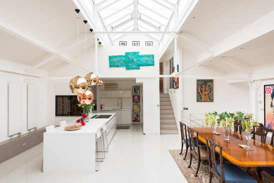 Warehouse conversion: Ashley Isham-designed property in lower Holloway, London N7