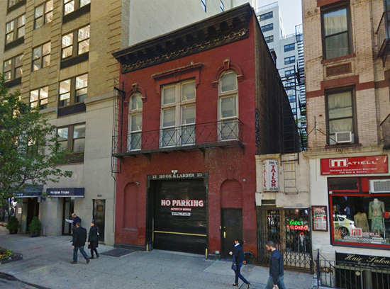 Andy Warhol's first studio in Upper East Side, New York City, USA (via Google Maps)