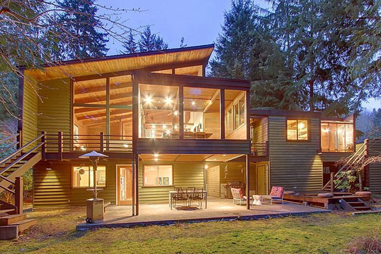 On the market: 1950s Philip Norton-designed modernist property in Shoreline, Washington, USA