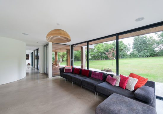 Eades Hotwani Wilkinson-designed contemporary modernist house in Water End, Hertfordshire