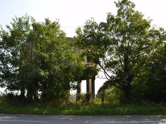 1930s former concrete water tower in Latchingdon, near Chelmsford, Essex