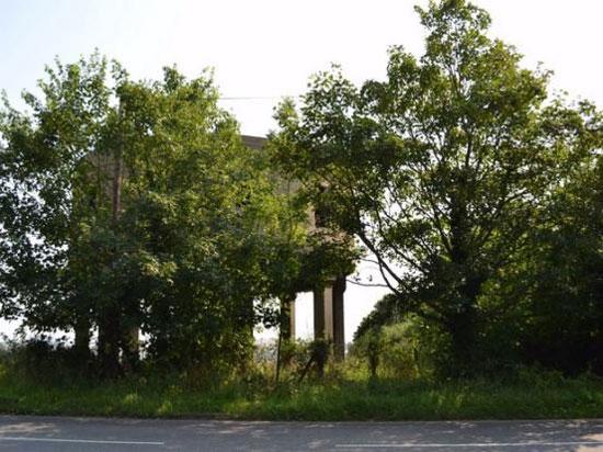 1930s former concrete water tower in Latchingdon, near Chelmsford, Essex