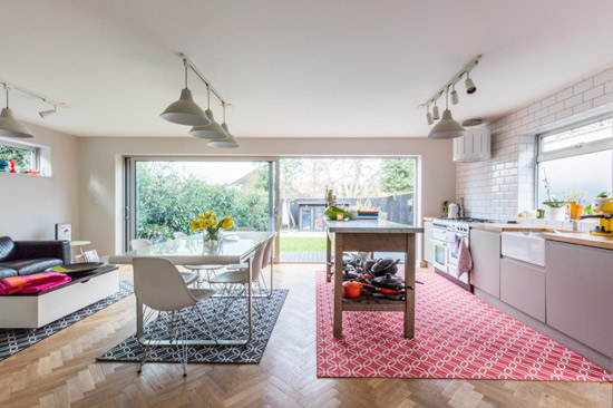 On the market: Louise Bastable-designed modernist property in Weybridge, Surrey