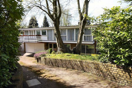 On the market: 1970s midcentury-style Hornbeam Villa in Welwyn Heath, Welwyn Garden City, Herfordshire