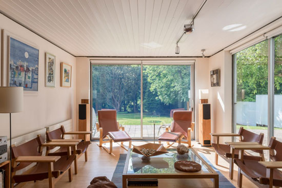 1960s Ralph Baldwin midcentury-style property in Welwyn, Hertfordshire