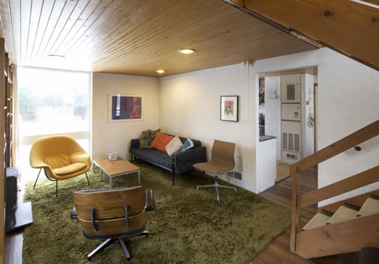 1960s Gordon Nettleton-designed midcentury modern property in Welwyn Garden City, Hertfordshire