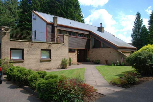 1970s architect-designed house in East Kilbride, Glasgow