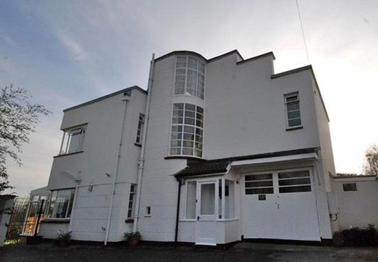 On the market: The White House three-bedroom 1930s art deco property in Wells, Somerset