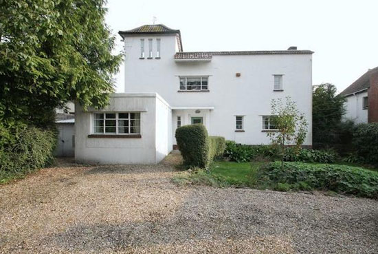 1930s art deco property in Wells, Somerset