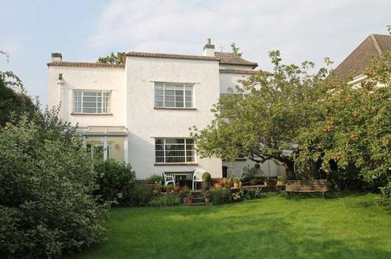 1930s art deco property in Wells, Somerset