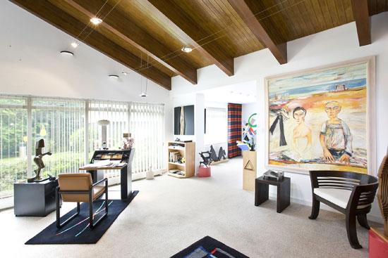 1970s Bleep four-bedroom modernist house in Wentworth Estate, Surrey