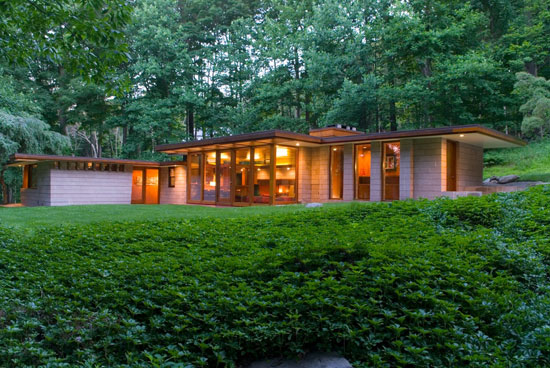 On the market: 1960s Frank Lloyd Wright-inspired property in Weston, Connecticut, USA