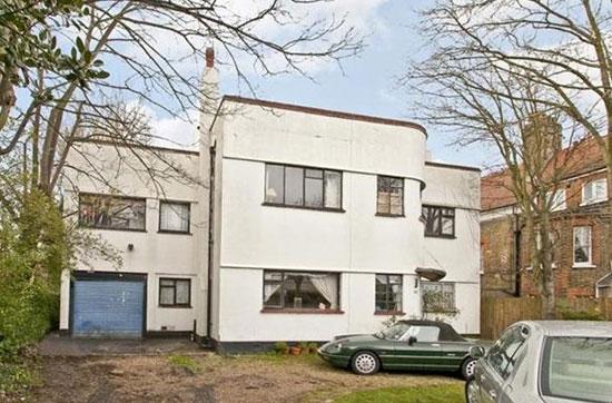 In need of renovation: Five-bedroom 1930s art deco property in Blackheath, London SE3