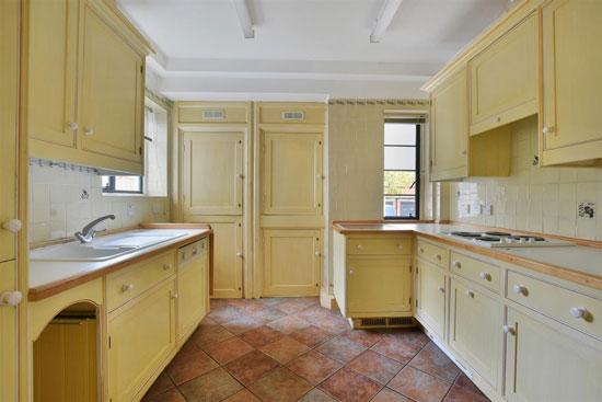 Apartment in the 1930s William Bryce Binnie-designed art deco West Hill Court, London N6