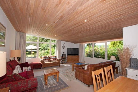 1960s midcentury-style single-storey property in Westcott, Surrey
