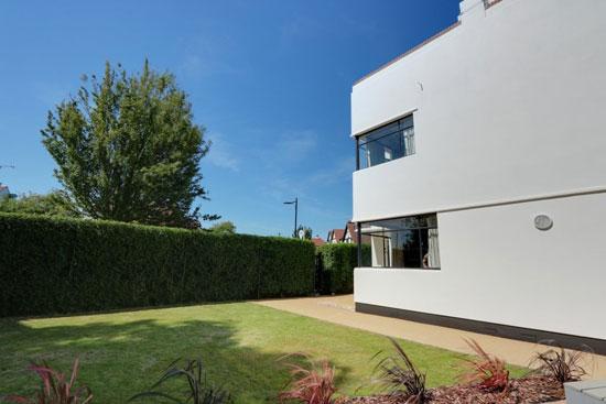 1930s art deco: Douglas Niel Martin-Kaye-designed property in Westcliff-On-Sea, Essex