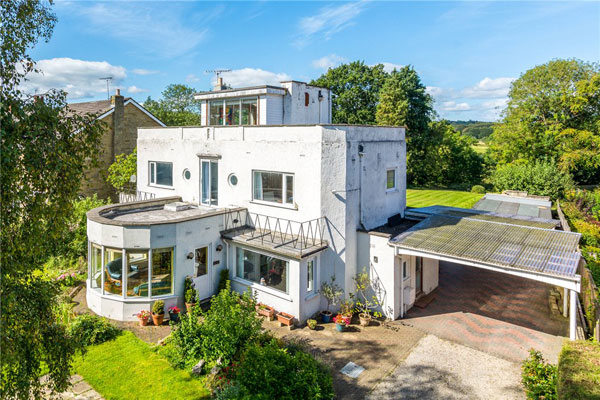 1930s art deco house in Wetherby, West Yorkshire